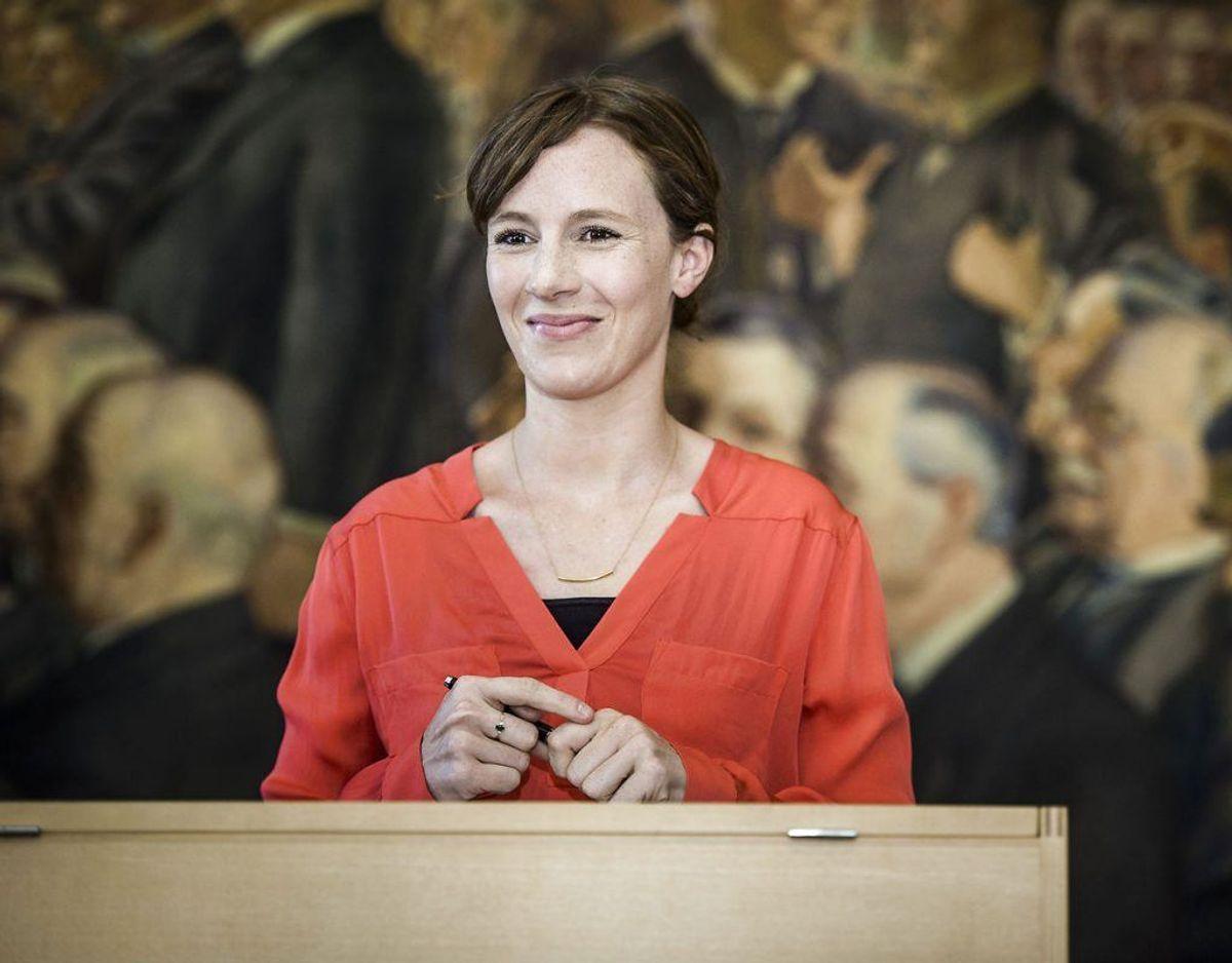 Lea Wermelin er Miljøminister. Foto: Scanpix