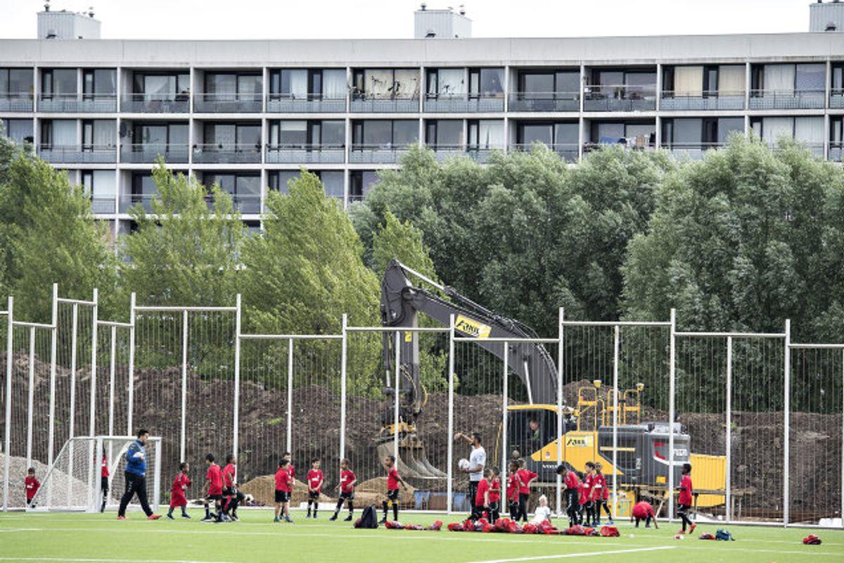 Landets amatørhold kan med nye retningslinjer igen rejse rundt og spille kampe – dog skal der tages en række sundhedsmæssige tiltag. (Arkivfoto) Foto: Henning Bagger/Scanpix