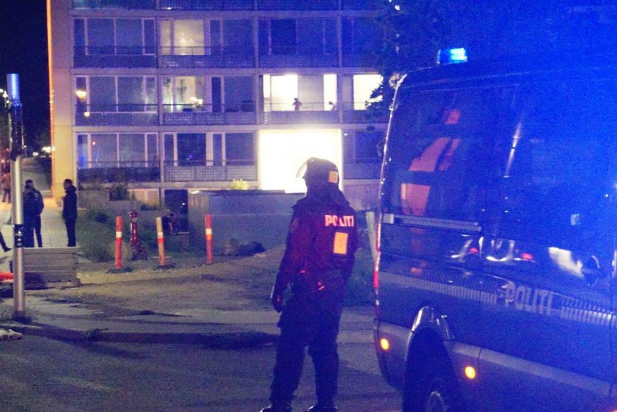 De tre anholdte er teenagere. Foto: Presse-fotos.dk