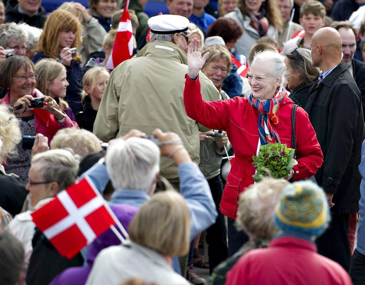 Den 3. juni 2020 skulle dronning Margrethe have besøgt Anholt som et led i sit sommertogt. Besøget er dog blevet aflyst. KLIK VIDERE OG SE FLERE BILLEDER. Foto: Henning Bagger/Ritzau Scanpix