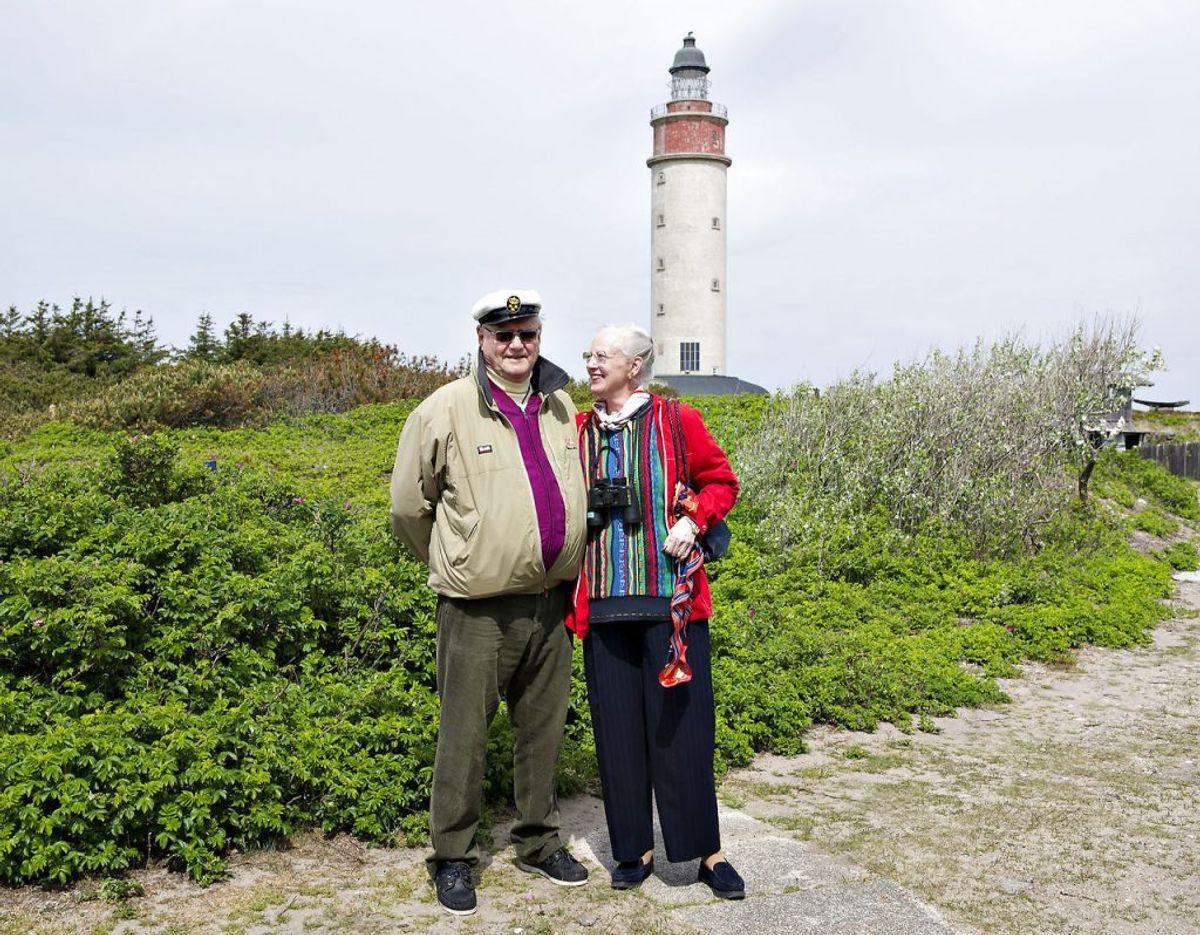 Norddjurs Kommune ser frem til at kunne byde dronning Margrethe velkommen på Anholt til 2021 knap ti år efter hun sidst besøgte øen. Foto: Henning Bagger/Ritzau Scanpix