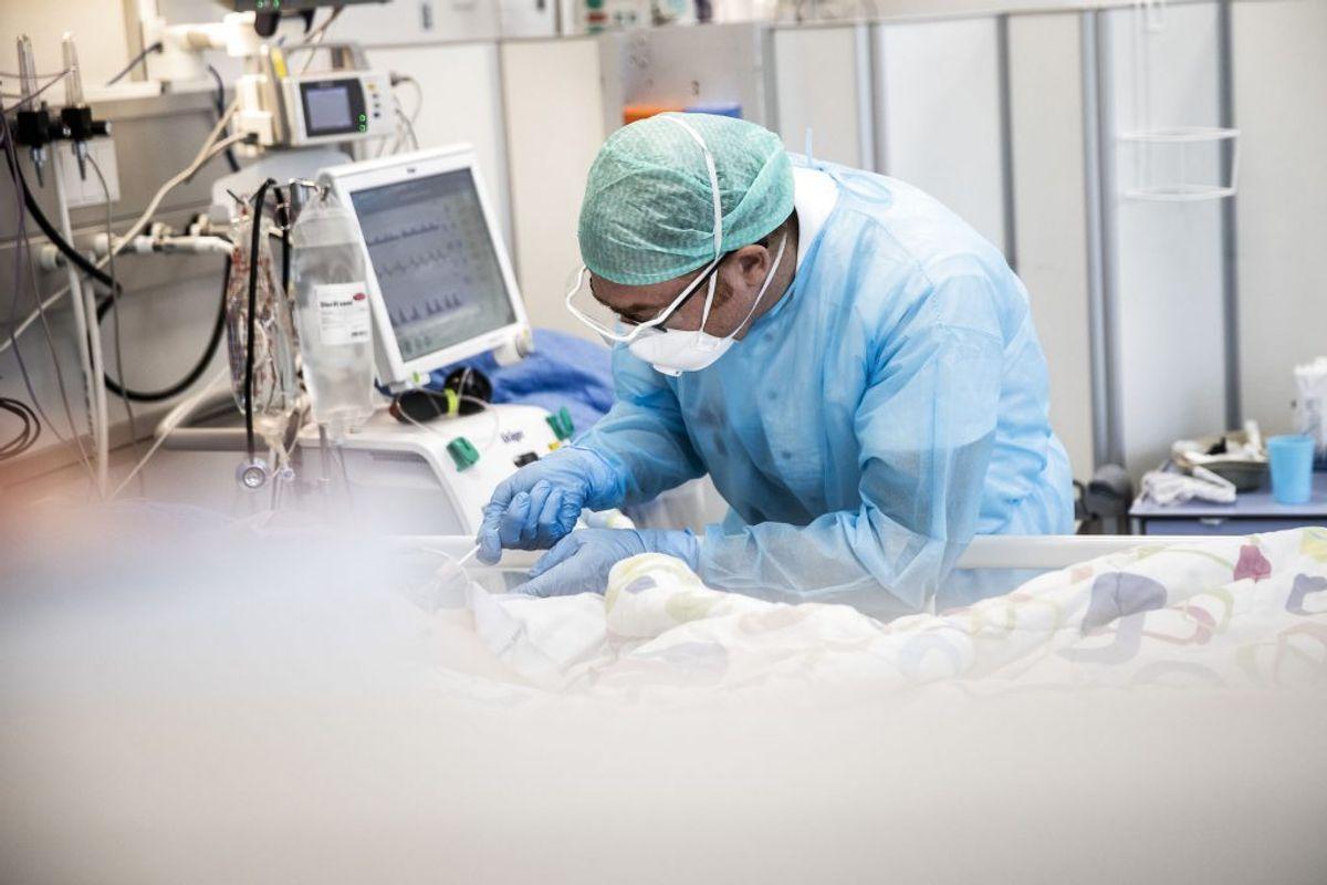 Ingen personer i Danmark er døde med coronavirus det seneste døgn. (Foto: Ólafur Steinar Gestsson/Ritzau Scanpix)