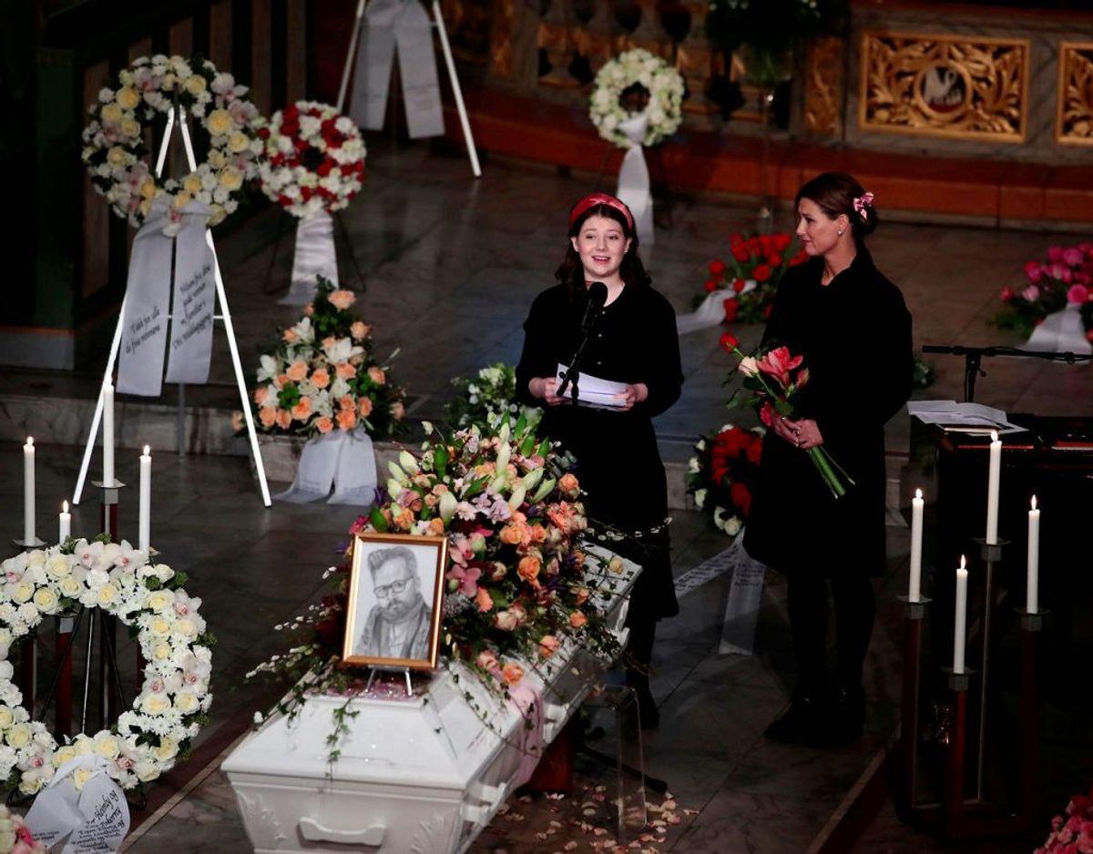 Tidligere har prinsessen også brugt netop den konto til at ytre sig om sin eksmands død. Foto: NTB Scanpix/Hakon Mosvold Larsen via REUTERS