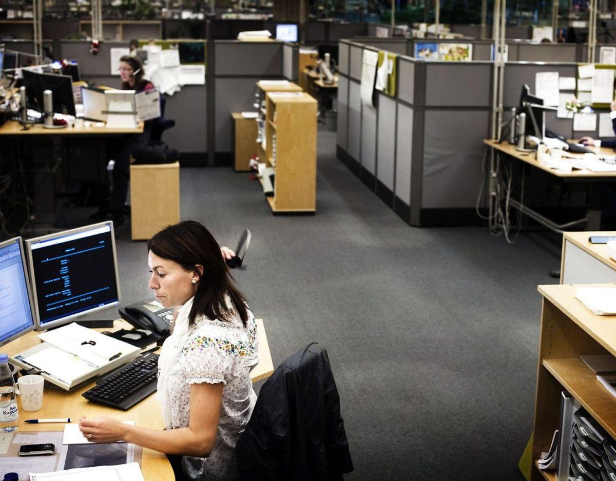Inkasso må dog kun besøge dig på din private adresse. De må altså ikke møde op på din arbejdsplads eller til din fritidsaktivitet. Foto: Scanpix/ Arkiv