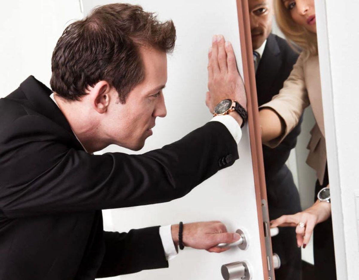 Hvis du ikke ønsker besøget, har du ret til at afvise inkassomedarbejderen. Foto: Colourbox/ Genre