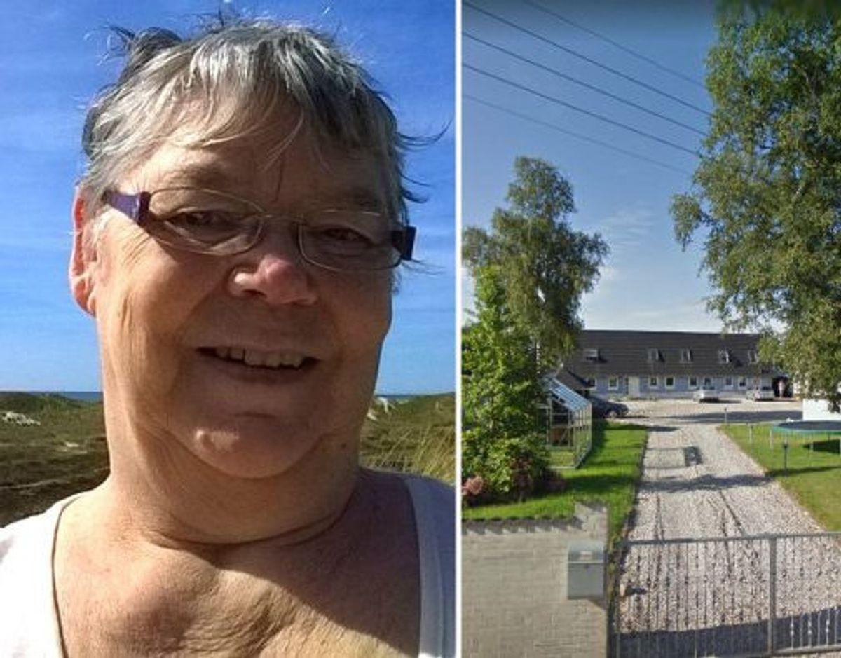 Inge-Lise Østergaard er bekymret for, hvad unge fra opholdsstedet Kanonen kan finde på. Hendes drøm er, at afdelingen i landsbyen Vissing flytter. Foto: Privat / Google Street View.