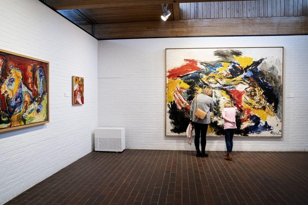 MÅ ÅBNE STRAKS: Kulturaktiviteter som museer, teatre, kunsthaller, biografer og akvarier (skulle have ventet til fase 3, som begynder 8. juni) (Foto: Ida Guldbæk Arentsen/Ritzau Scanpix)