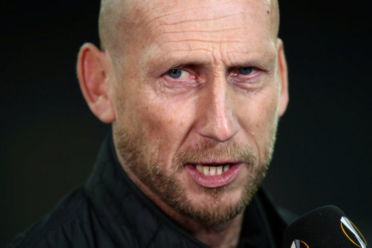 Som træner har Jaap Stam blandt andet kortvarigt stået i spidsen for Feyenoord i 2019 med den danske angriber Nicolai Jørgensen på holdkortet. (Arkivfoto) Foto: Denis Balibouse/Reuters