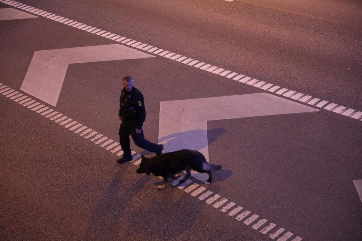 Motorring 3 er nu genåbnet efter en langvarig politiefterforskninG. KLIK FOR FLERE BILLEDER FRA STEDET. Foto: Presse-fotos.dk