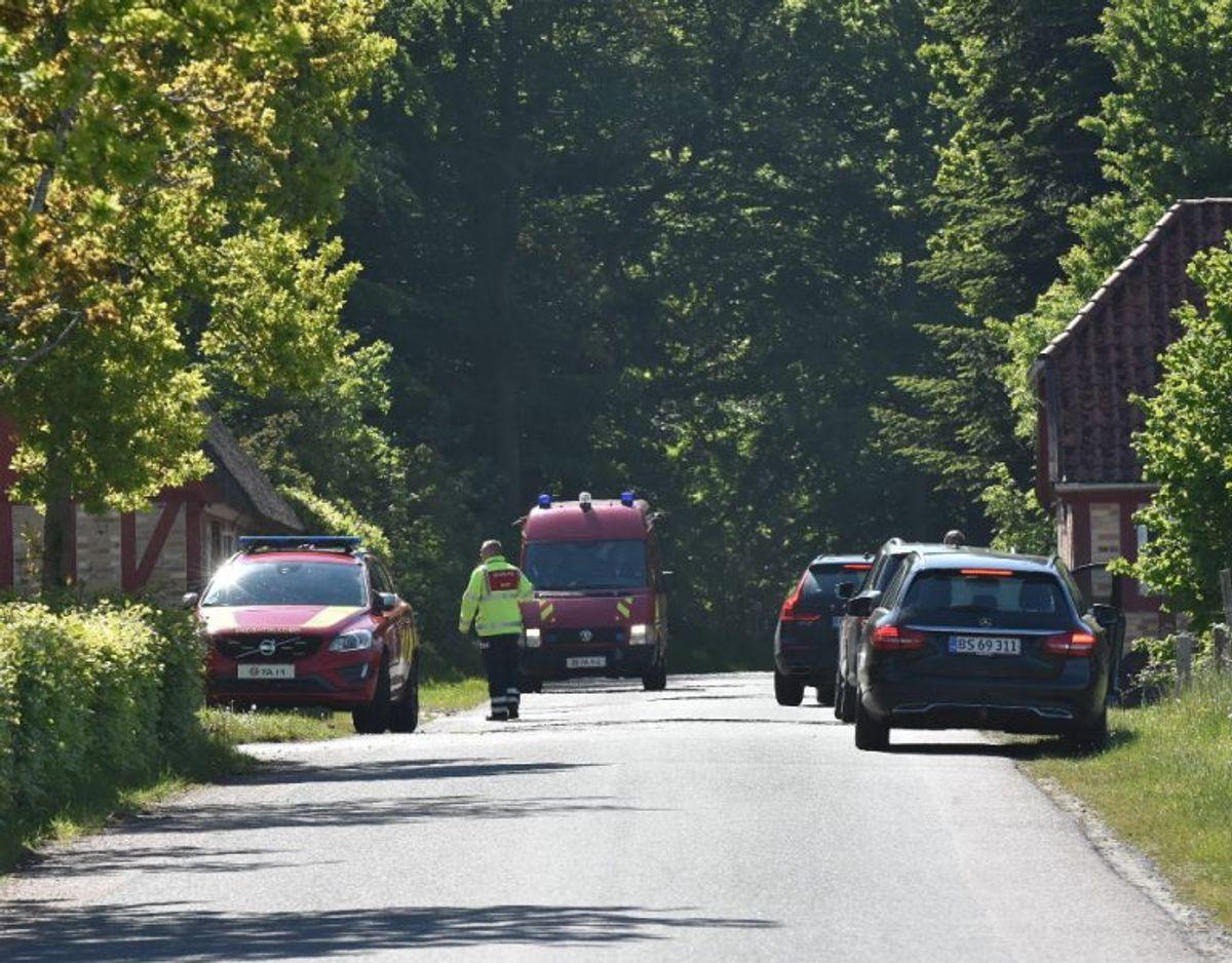 Årsagen til uheldet er ukendt. Foto: Presse-fotos.dk.