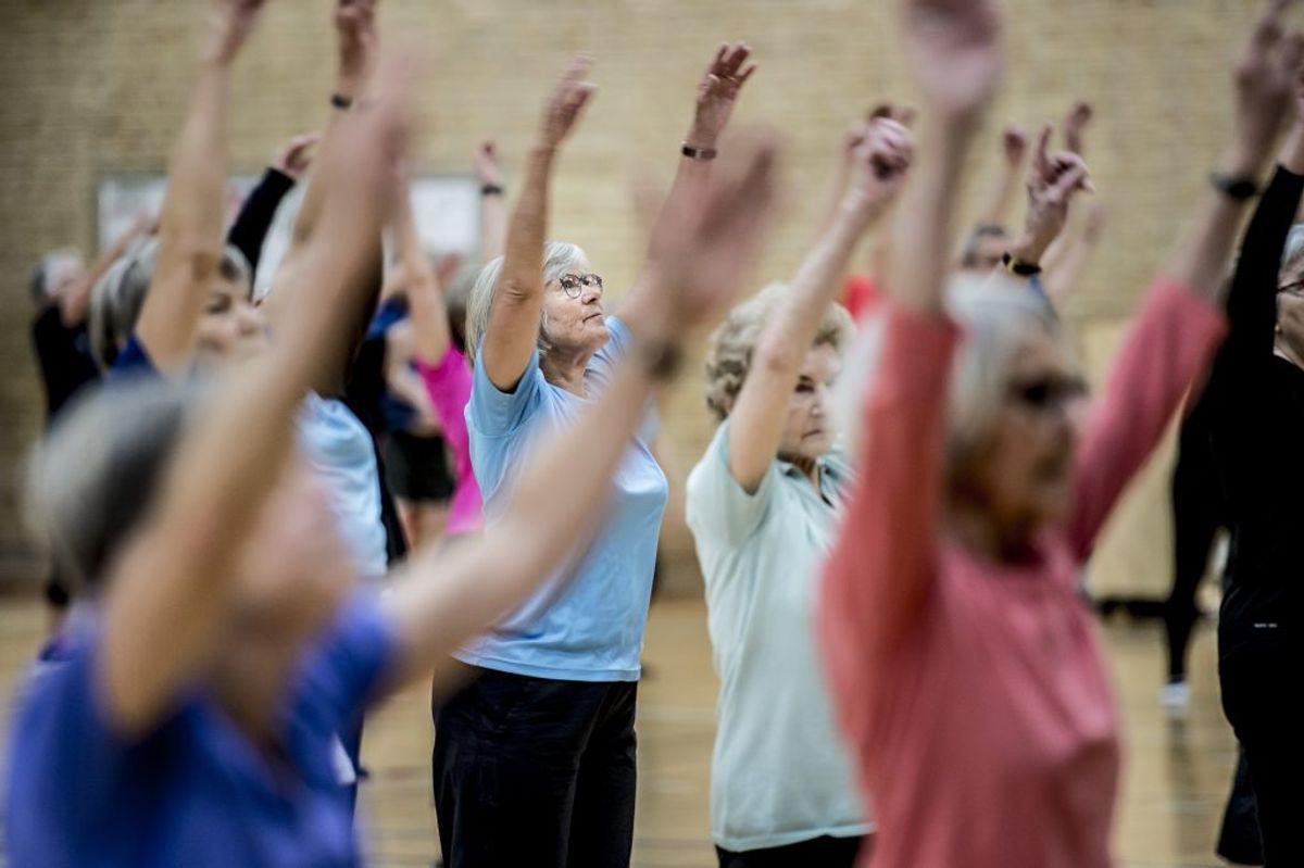 Det gælder også ved aktiviteter i bevægelse, eksempelvis rutsjebaner. Kilde: Sundhedsstyrelsen. (Foto: Mads Claus Rasmussen/Ritzau Scanpix)