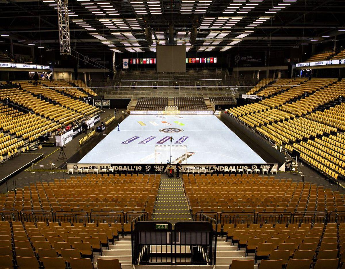 Sportshaller. Foto: Scanpix