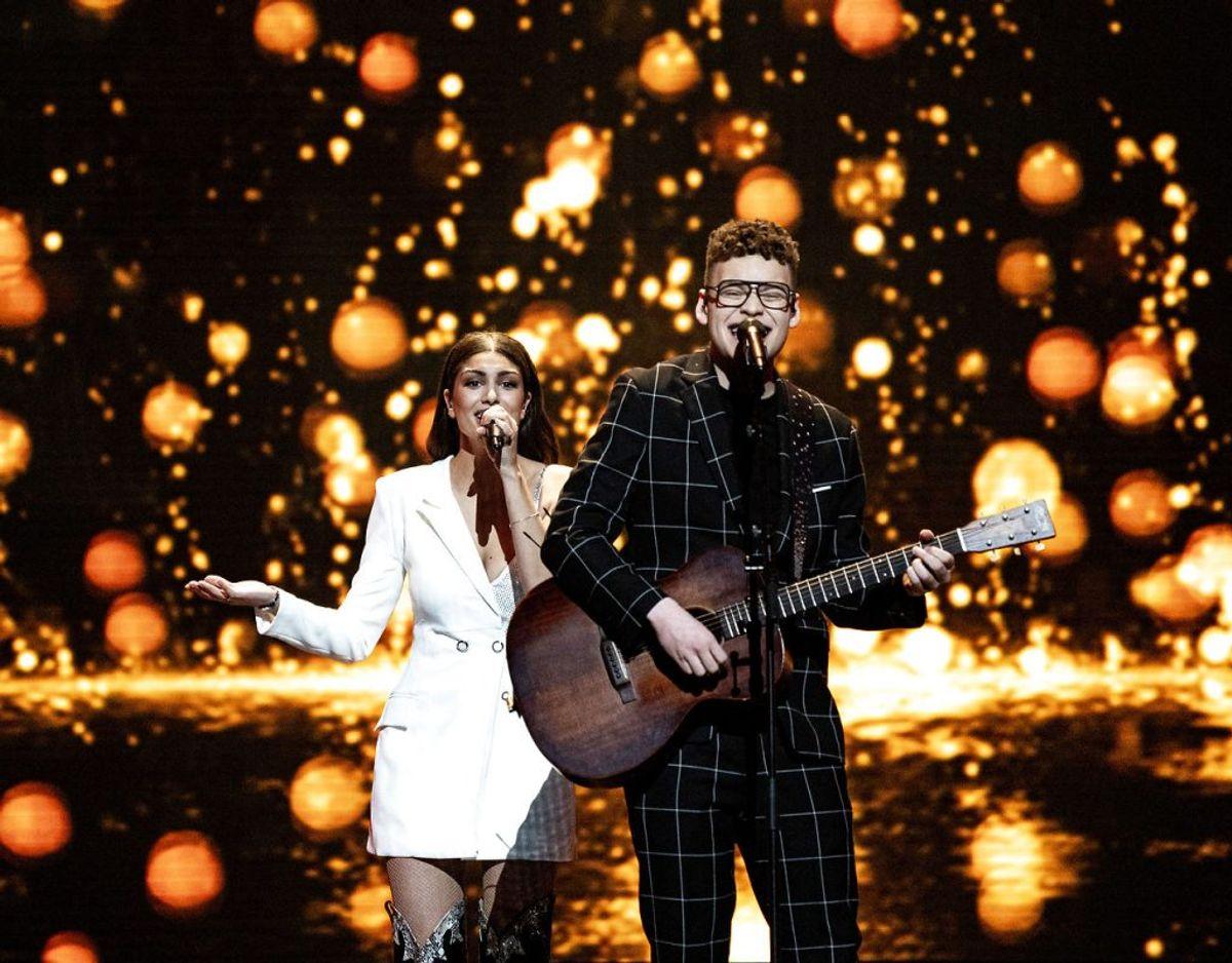 Alle 41 nationer skal spille deres Eurovision-sang, dermed skal Ben & Tan også spille deres sang Yes. Foto: Ritzau Scanpix/ Arkiv