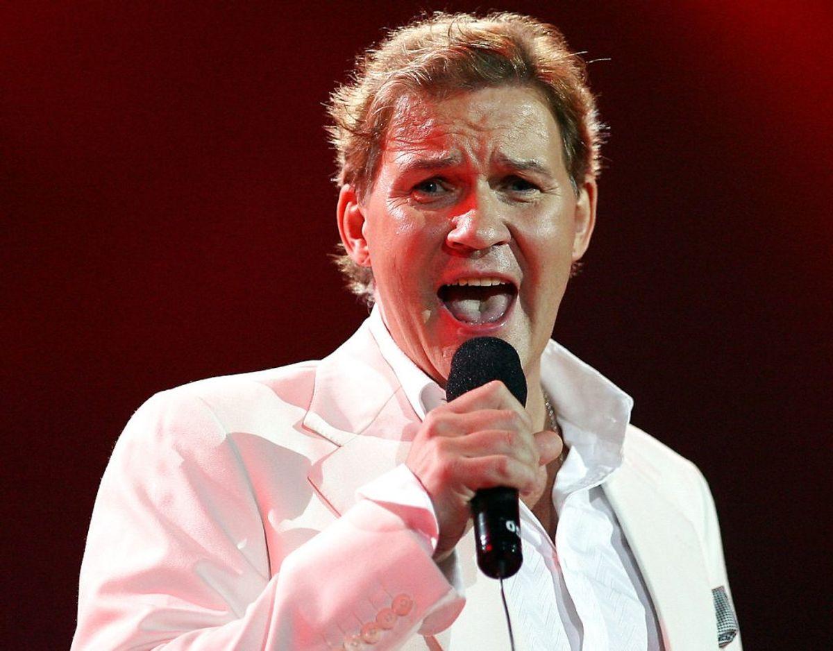 Eurovision-legenden Johnny Logan skal også synge sit kæmpehit Whats Another Year. Foto: Ritzau Scanpix/ Arkiv