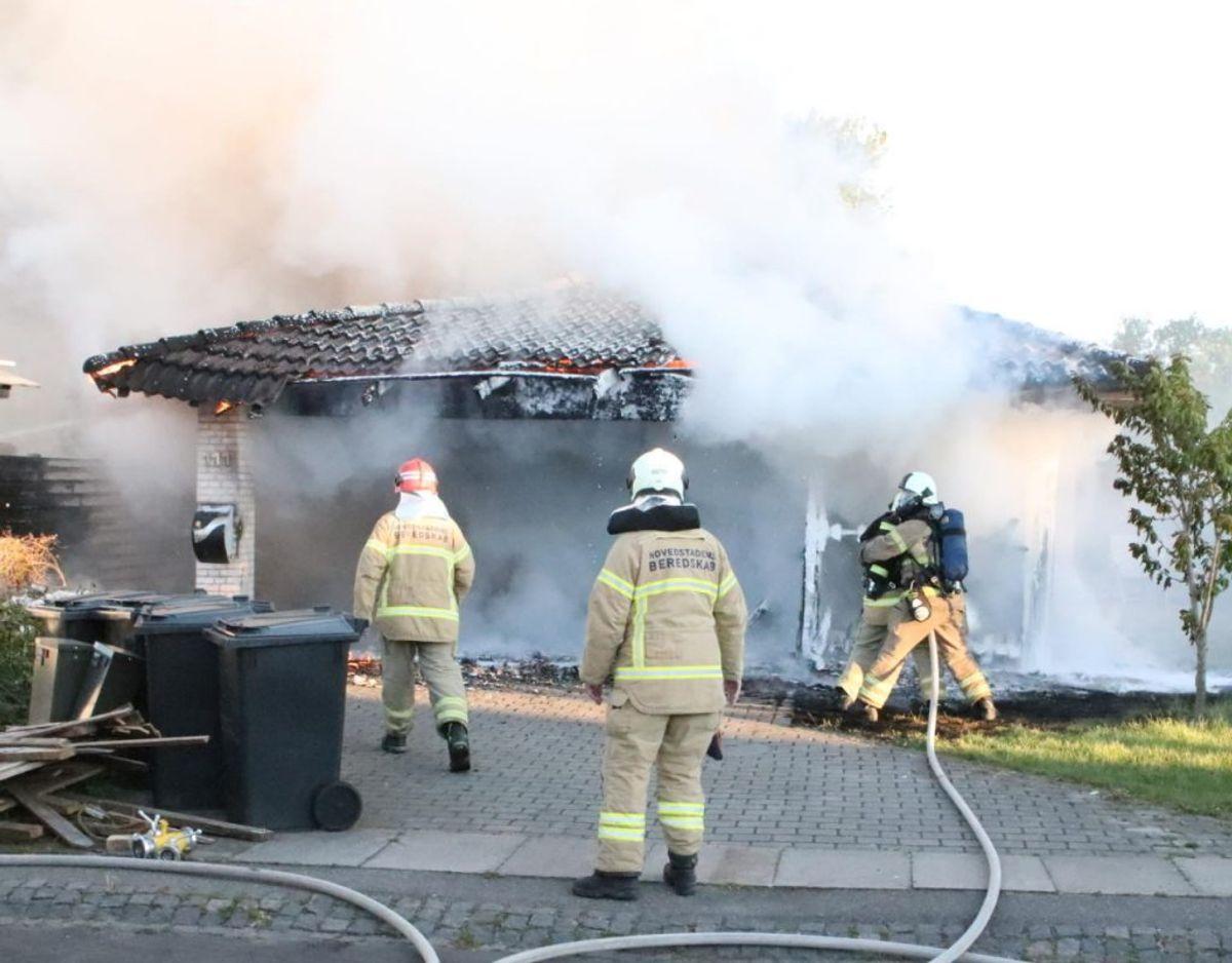 Branden blev anmeldt 20.06. Foto: Presse-fotos.dk.
