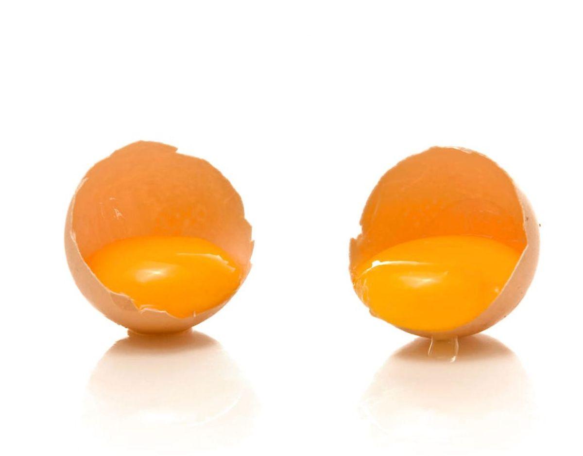 Drop æggeblommen, hvis det handler om at få protein og undgå fedt: Det passer ikke. Faktisk indeholde æggeblommer mere protein end æggehviderne. De er desuden fyldt med næringsstoffer. Så spis hele ægget. Kilde: Expressen/Mit Kök. Klik videre for flere oplysninger. Foto: Scanpix.