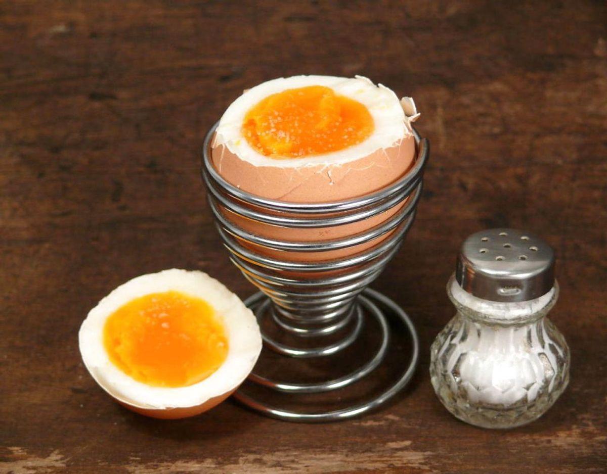 Æg indeholder for meget kolesterol: Æg indeholder kolesterol, men det behøver faktisk ikke at være negativt. De fleste af os kan spise flere æg hver dag uden at påvirke vores kolesterolniveauer negativt. Sunde mennesker har en kontrolfunktion i kroppen, der betyder, at når vi får kolesterol gennem maden, falder vores egen kolesterolproduktion. Klik videre for flere oplysninger.