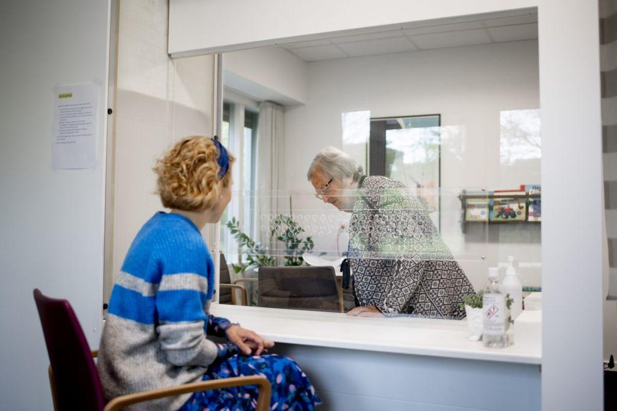Begræns situationer hvor du udsættes for smitte. Kilde: Sundhedsstyrelsen. (Foto: Christian Nordholt/Ritzau Scanpix)