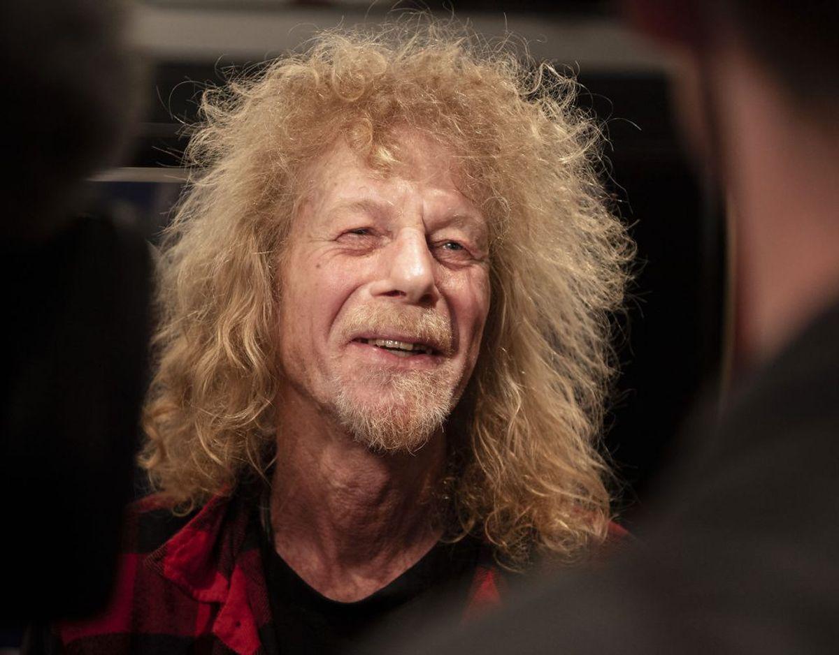 Mandag den 4. maj 2020 fylder musiker Søren Berlev 70 år. (Foto: Bo Amstrup/Ritzau Scanpix)