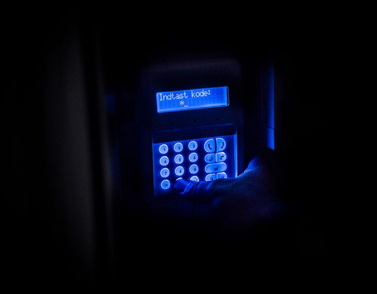 Alarmselskabet Verisure er blandt andet blevet anmeldt for at oplyse forbrugere om, at deres område har været usikkert, og derfor behøver de en alarm. Foto: Anne Bæk/Ritzau Scanpix