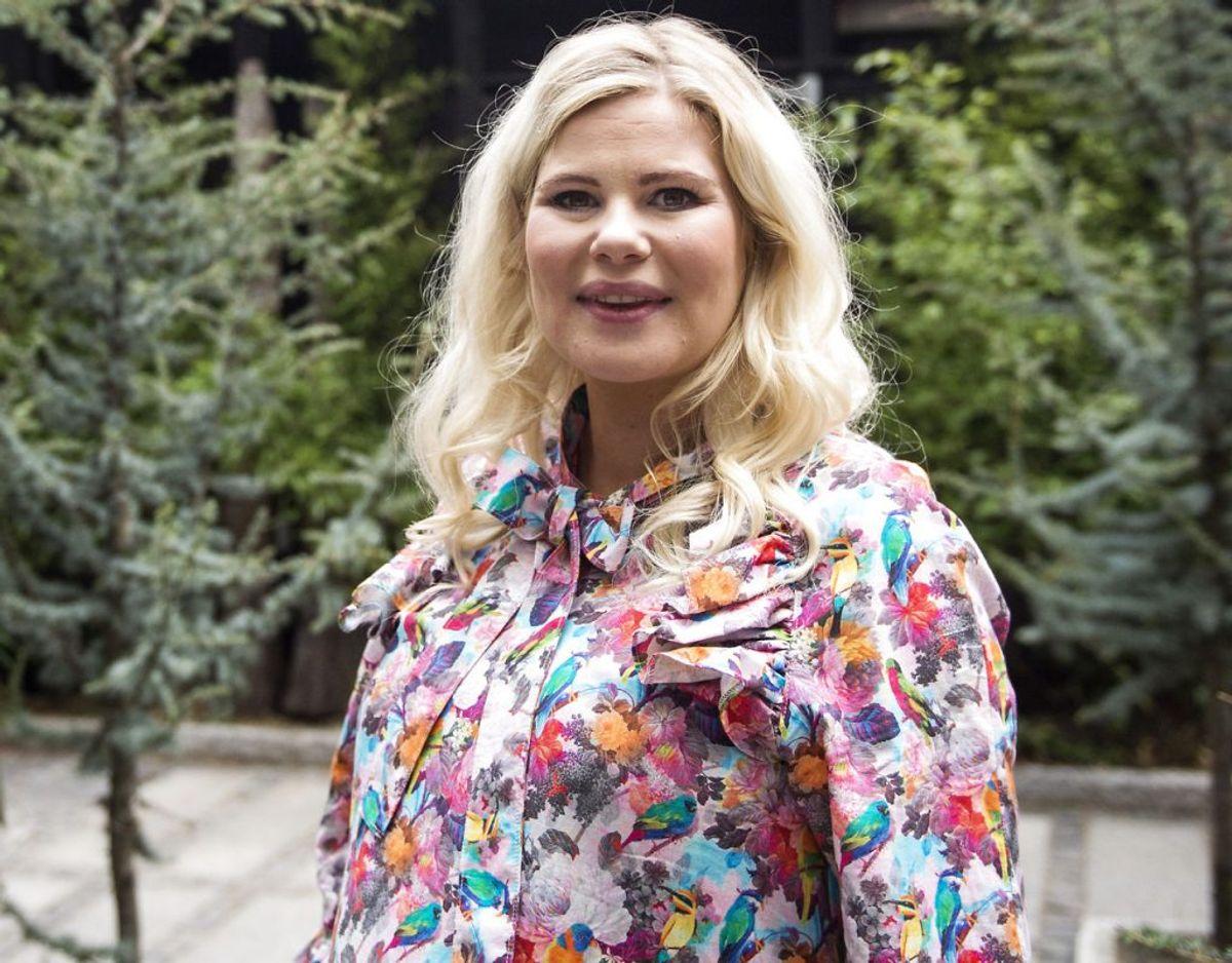 Tv-værten afslører, at hun har haft elevatorvægt. Hendes vægt afhænger af, hvor hun er sit liv, forklarer hun. Foto: Sarah Christine Nørgaard/Scanpix 2017