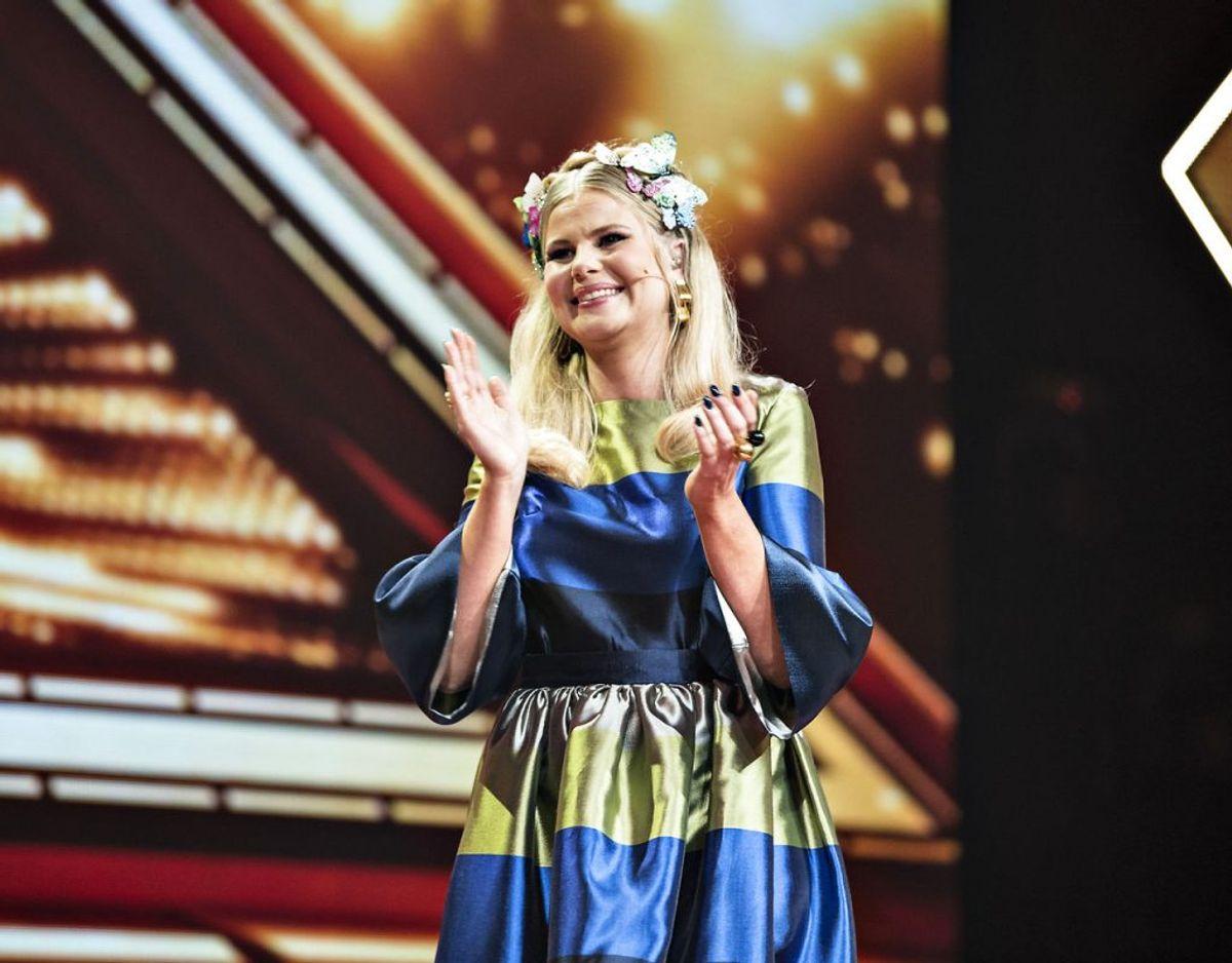 X Factor-værten håber, at kommentarer om at være slank ikke er noget, der fremover bør være en ting. Foto: Ida Guldbæk Arentsen/Scanpix 2017