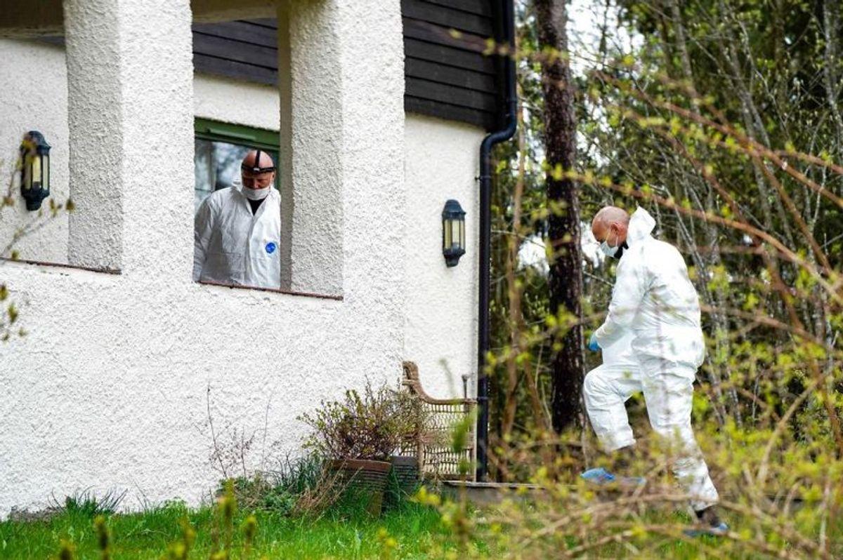 Efter Hagens anholdelse har politiet endnu en gang ransaget familiens hjem. (Foto: Heiko Junge / NTB canpix