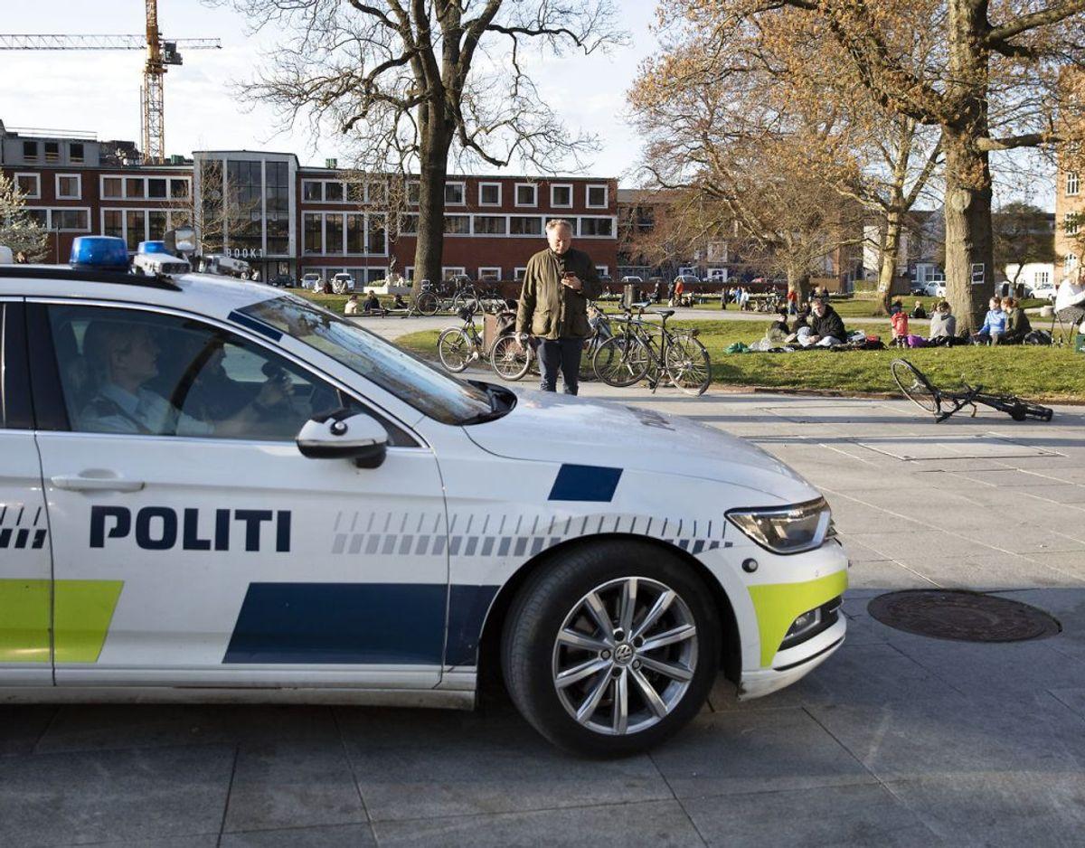 Bøderne er af politiet blevet set som den sidst mulige udvej. Foto: Mikkel Berg Pedersen/Ritzau Scanpix