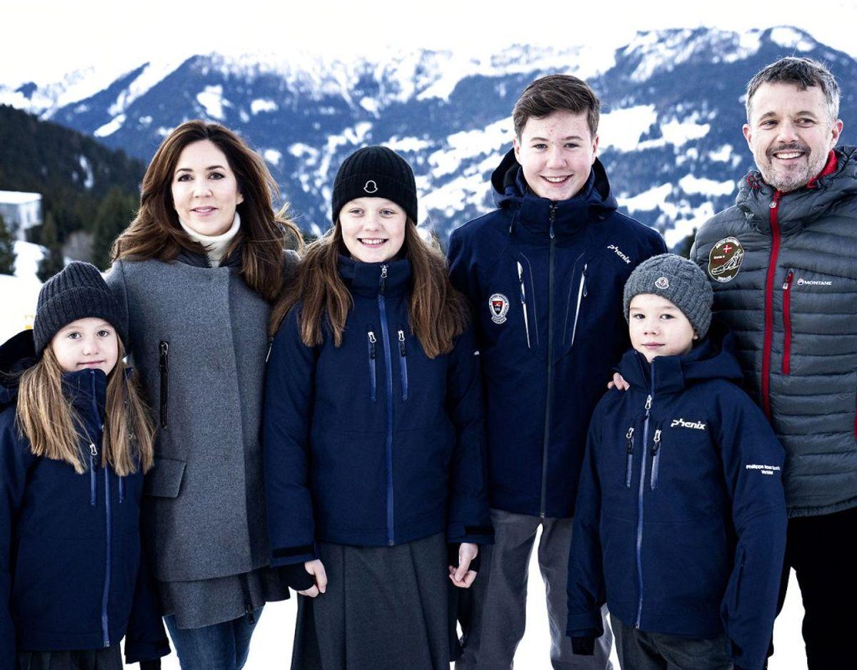 Prinsessen er netop med sin familie vendt hjem fra Schweiz, hvor de har boet i nogle måneder i starten af 2020. Foto: Ida Guldbæk Arentsen/Ritzau Scanpix