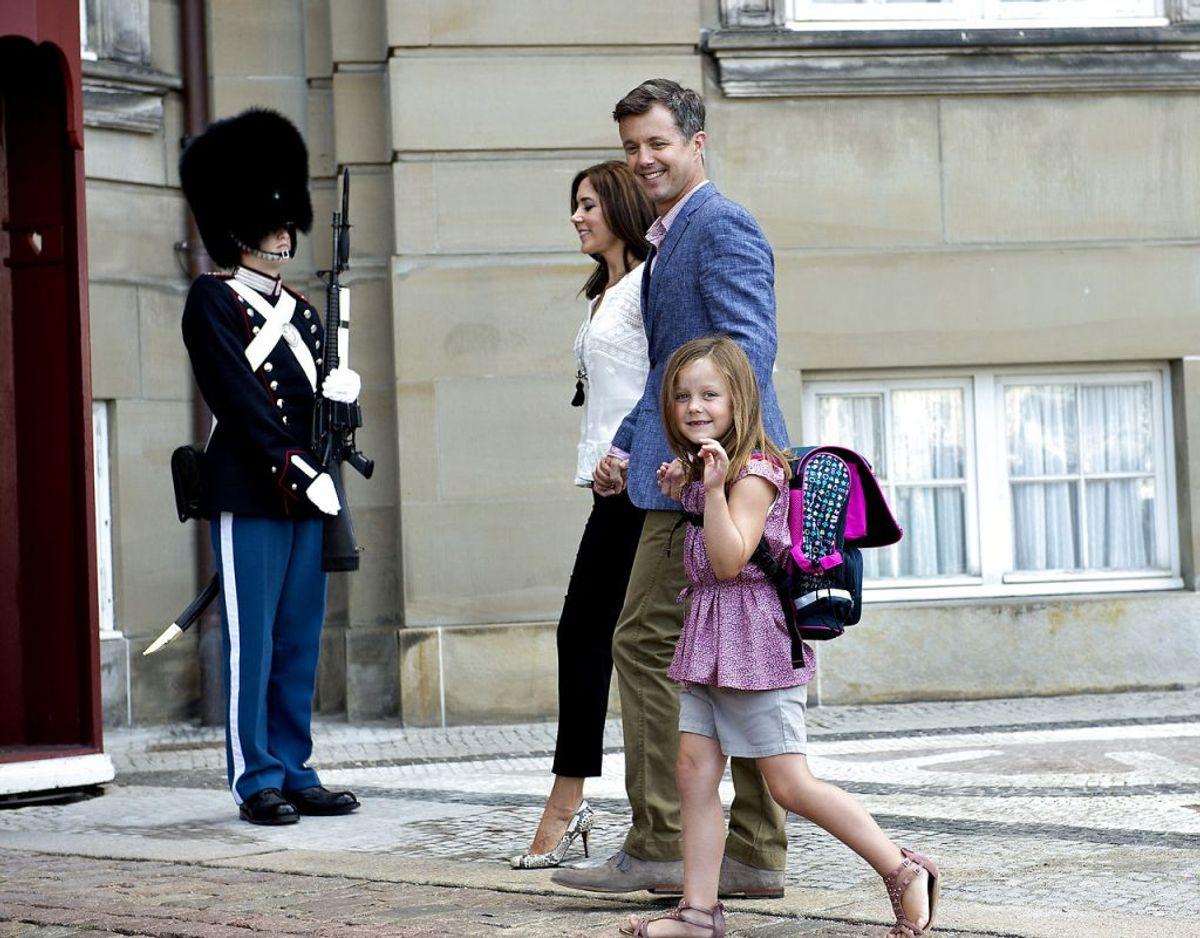 Prinsesse Isabella begyndte i skole i 2013. Foto: Keld Navntoft/Scanpix 2013