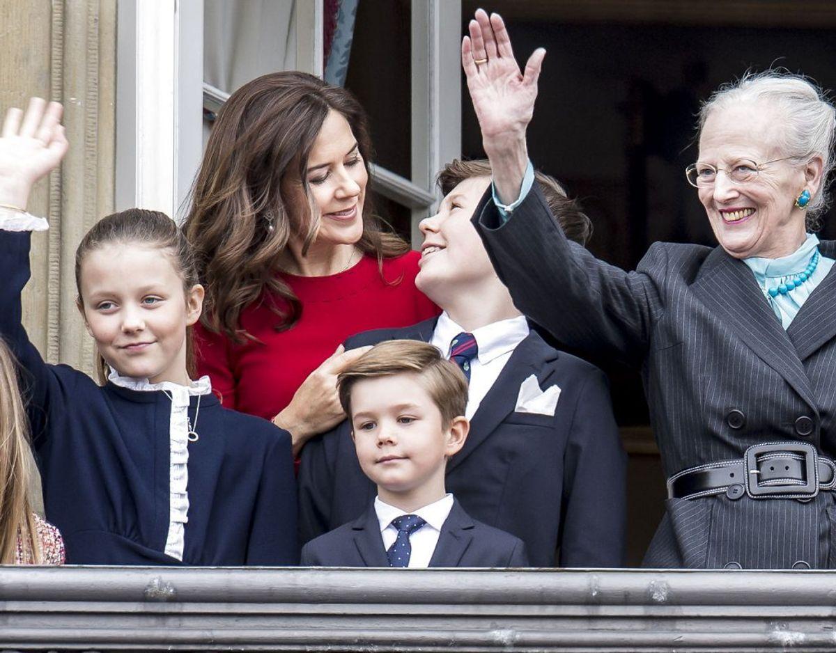 Prinsesse Isabella er blandt andet opkaldt efter sin farmor dronning Margrethe. Foto: Mads Claus Rasmussen/Ritzau Scanpix