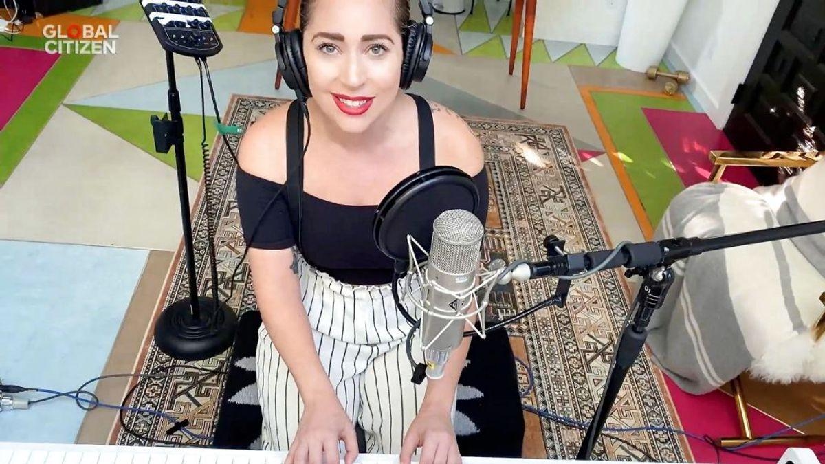 """Lady Gagas initiativ  """"One World: Together at Home"""" indsamlede mere end en milliard kroner. Foto: Global Citizen/Handout/Scanpix."""