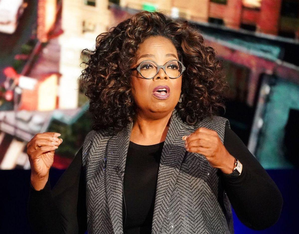 Oprah Winfrey skulle være favorit til at skulle interviewe Meghan. Foto: Scanpix/REUTERS/Carlo Allegri