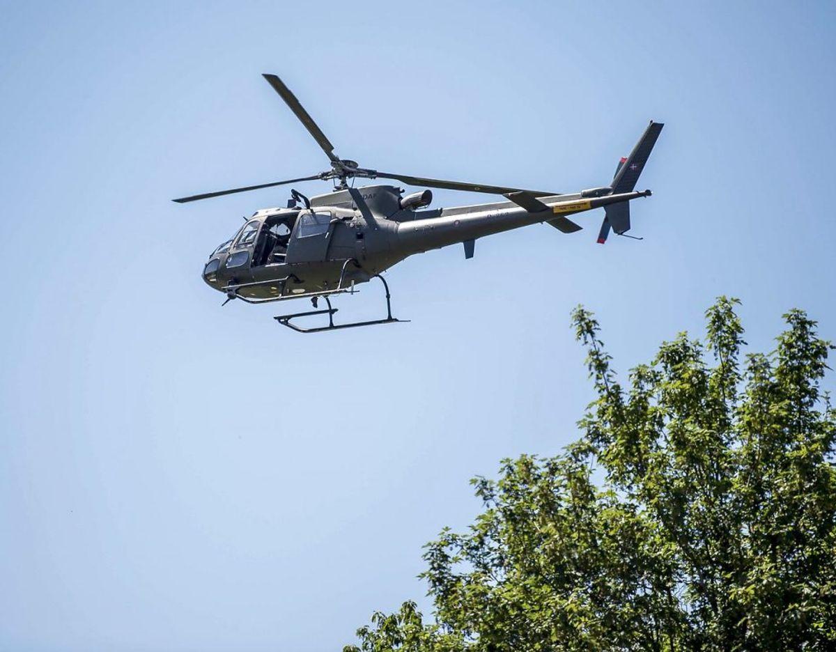 Helikopterpenge skal forstås som penge, der kan blive sendt ud til borgerne fra luften. Altså ikke bogstaveligt. Foto: Scanpix