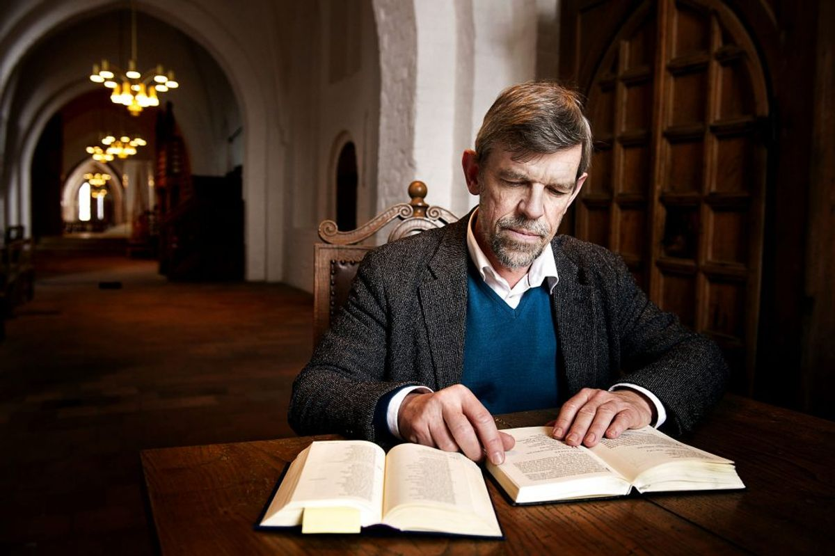 Biskop Peter Fischer-Møller mener ikke, præster skal blande sig i corona-debatten. Foto: Claus Bech/Scanpix.