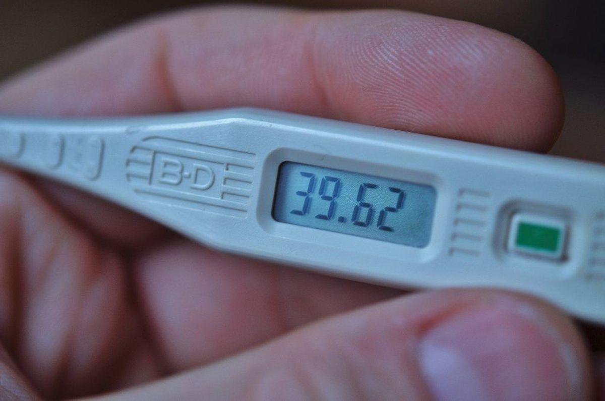 Du har feber, hvis temperaturen i din endetarm er over 38 grader. Det er et almindeligt sygdomstegn, men det kan være udtryk for mere alvorlige lidelser. Kilde: Sundhed.dk. KLIK VIDERE OG LÆS OM DE FARLIGE LIDELSER MAN KAN HAVE HVIS MAN HAR FEBER.
