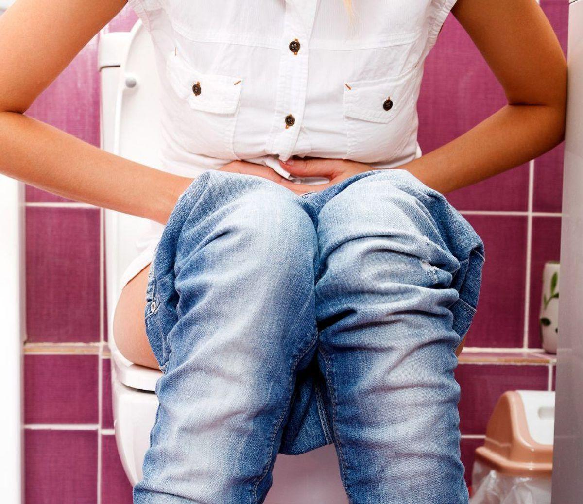 Trykken eller lette smerter bag skambenet kan også være et symptom på blærekræft. Foto: Scanpix