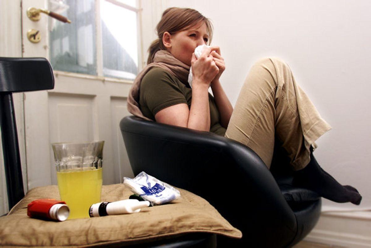 Hvor mange dør af influenza om året i Danmark? Det spørgsmål er faktisk lidt svært at svare på for det kommer an på, hvor lang og hård influenzasæsonen er.  Foto: Maria Hedegaard/arkiv/Scanpix