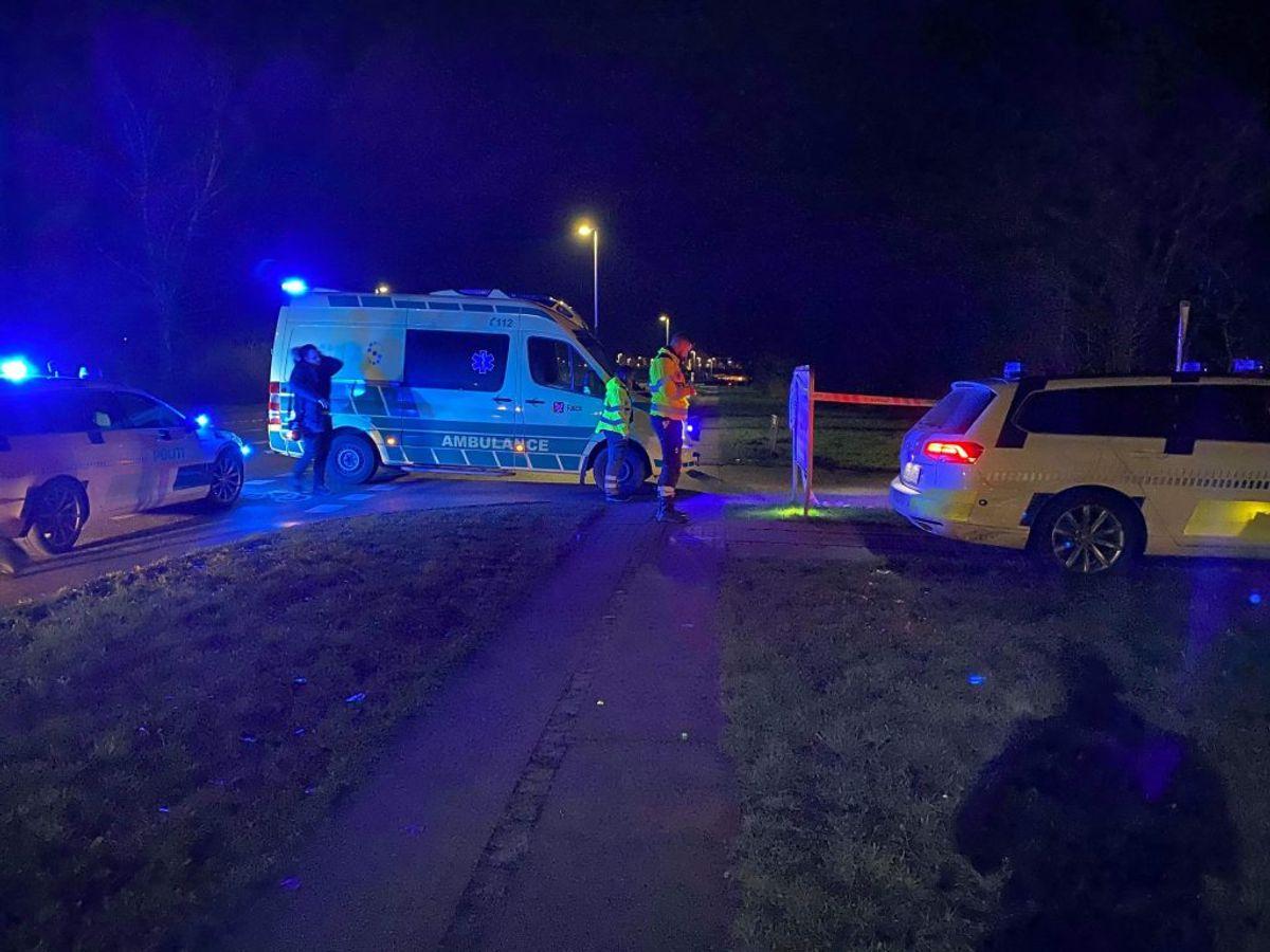 De to mænd, der tirsdag aften blev ramt af skud, er i kritisk tilstand, lyder det fra politiet. KLIK VIDERE OG SE FLERE BILLEDER. Foto: Presse-fotos.dk