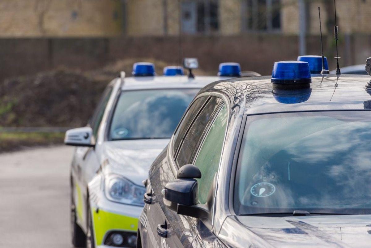 Flere patruljer var sat ind i jagten på bilisten. KLIK for mere info. Foto: Colourbox.