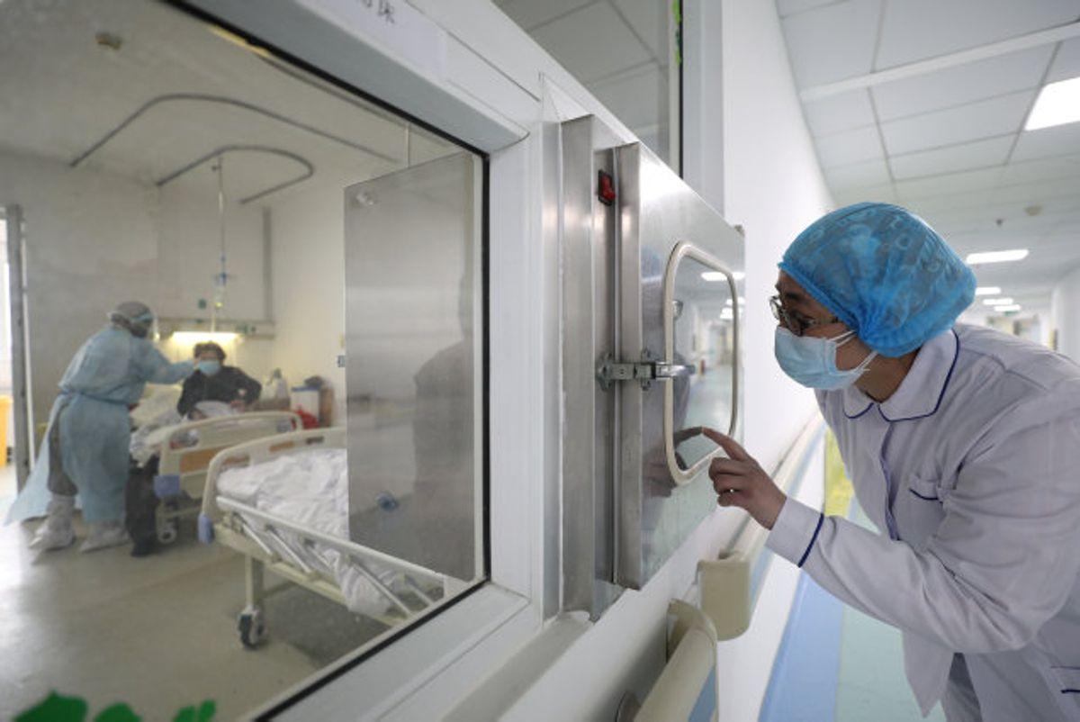 Coronavirusset har sit epicenter i Wuhan, som ligger i Hubei-provinsen. Sundhedspersonale i titusindvis har arbejdet for at inddæmme virusset, som har kostet over 1800 mennesker og smittet 72.400 i Kina. (Arkivfoto). Foto: China Daily/Reuters