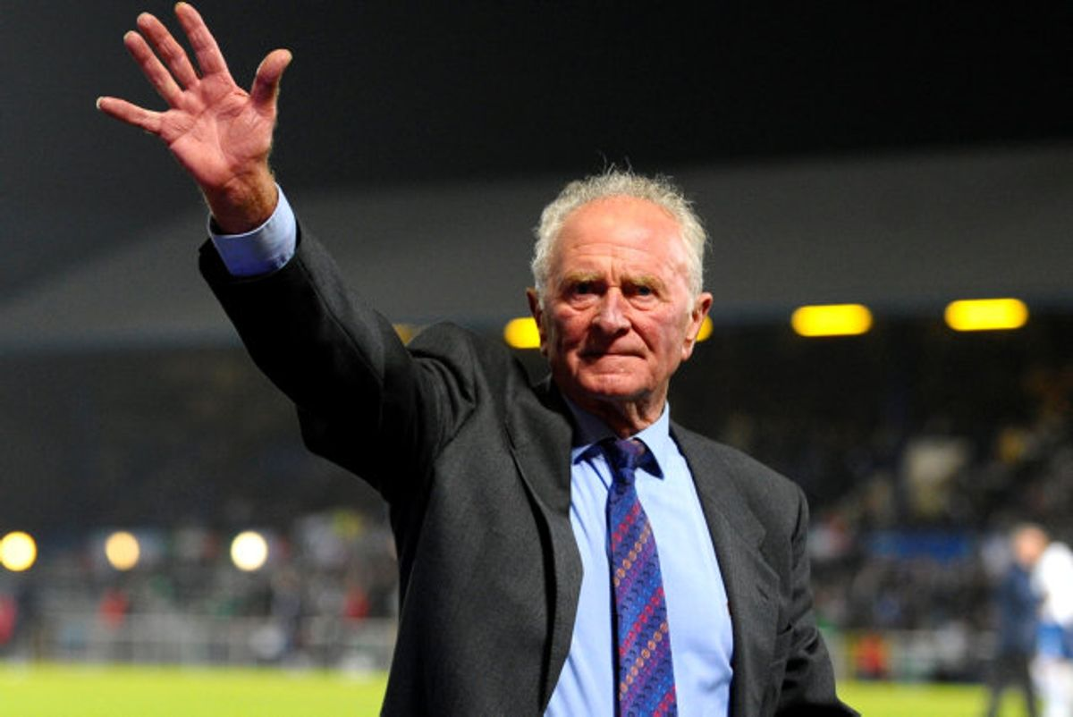 Harry Gregg blev 87 år. Han spillede i Manchester United i ni år. KLIK og se billeder fra flystyrtet. Foto: Action Images/Scanpix