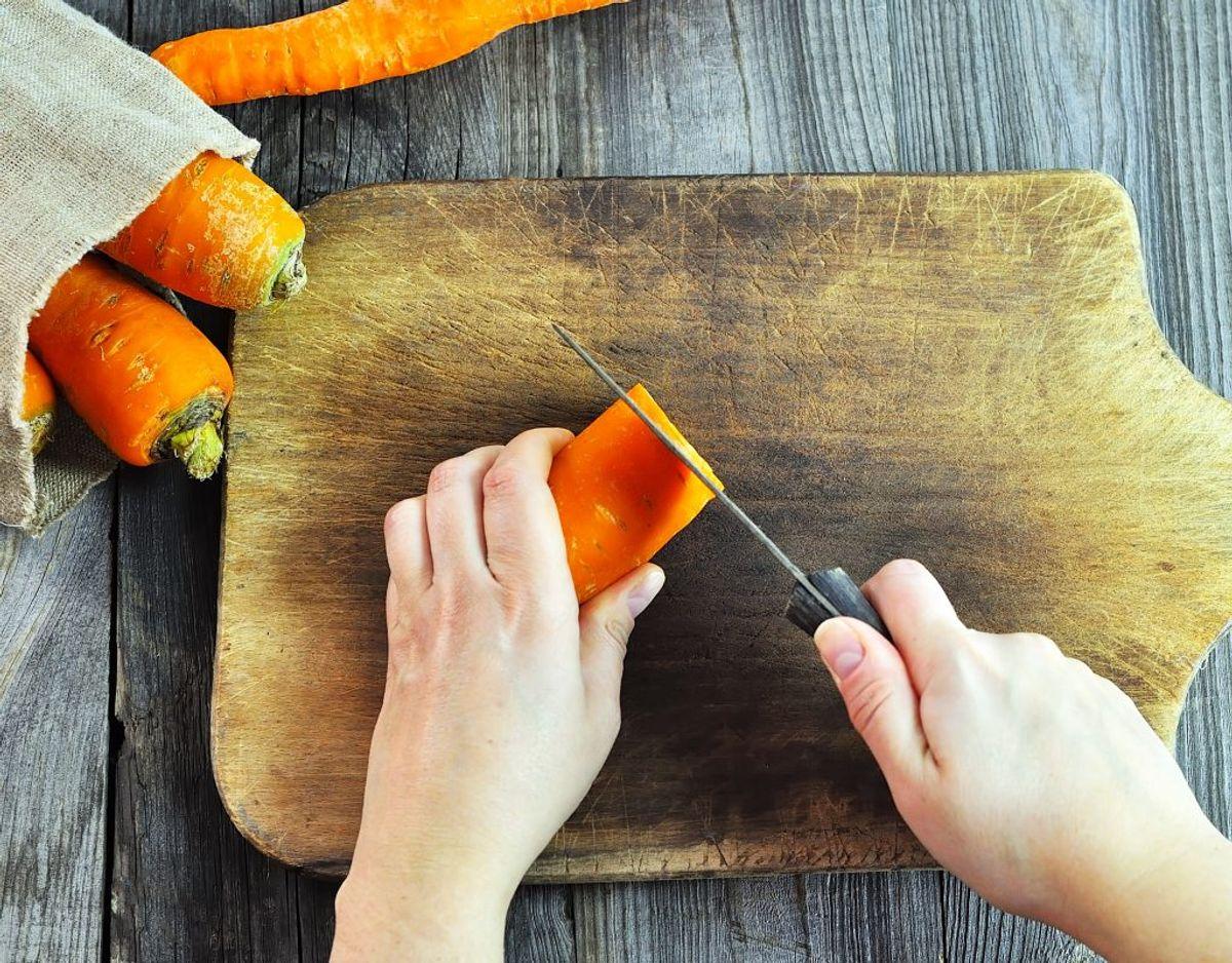 Det er vigtigt, at du skyller gnavegrønt, inden du spiser det råt. Genrefoto.