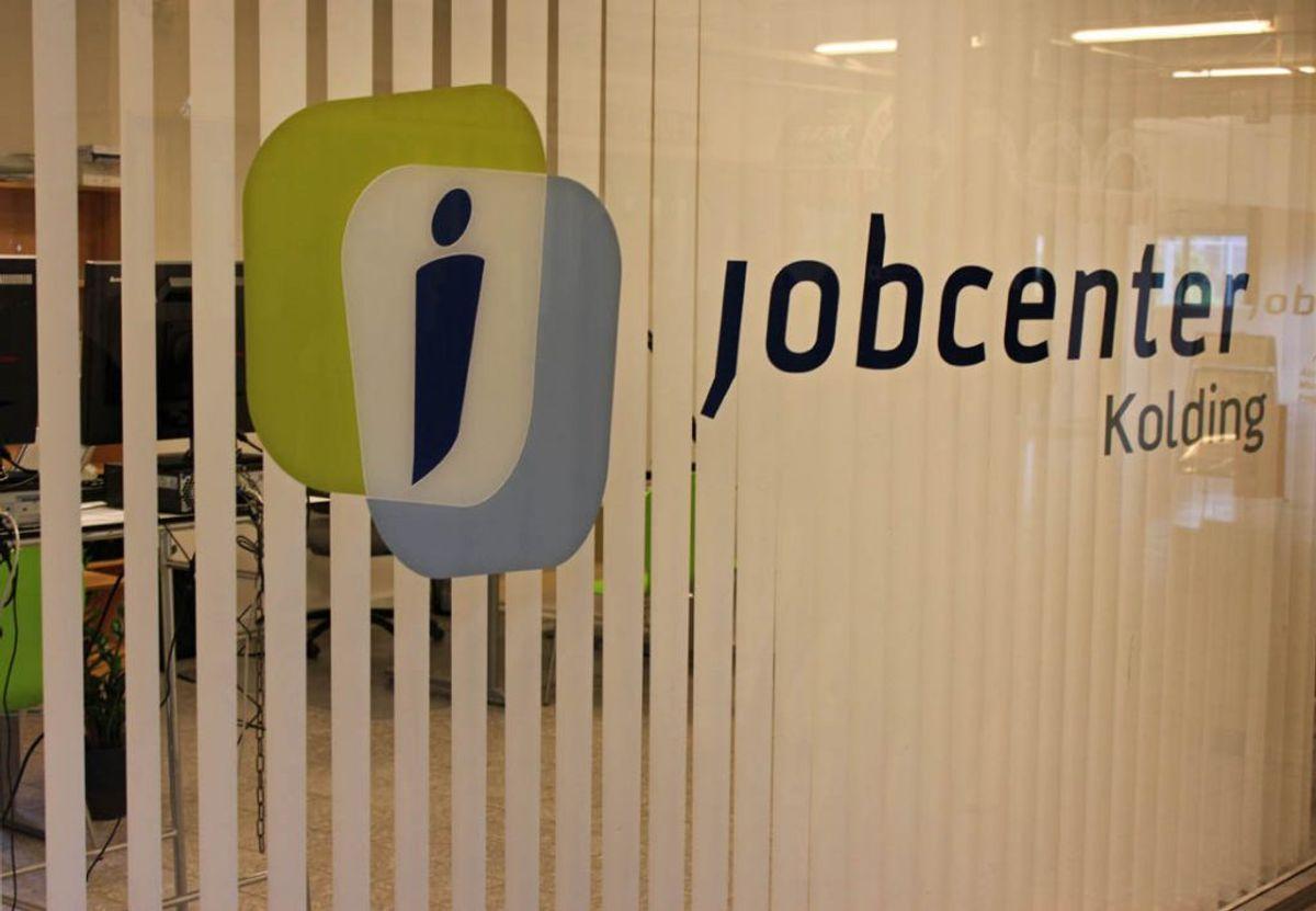 Jobcentrene møder kritik fra brugerne. Foto: Elo Christoffersen.