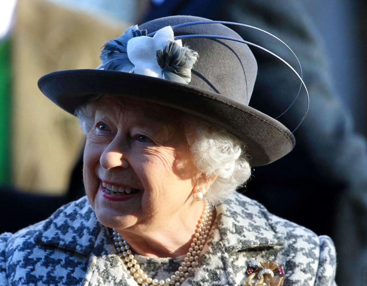 Det viste sig at være en formalitet at få dronningen til at godkende aftalen. Det var også forventet. Foto: Lindsey Parnaby / Scanpix.