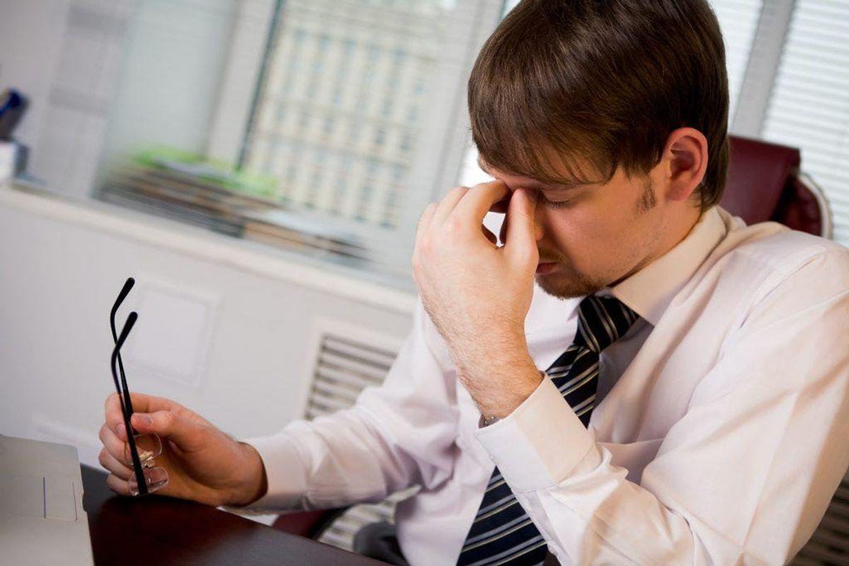 En af de mere alvorligere sygdomme, som træthed er et symptom på, er depression. Sygdommen rammer mange danskere hvert år, og er altid en god idé at blive tjekket hos din læge, hvis du har mistanke til, at du lider af en depression. Et lavt energiniveau kan også været tegn på, at dit stofskifte er for lavt. Kilde: Reader's Digest. Arkivfoto.