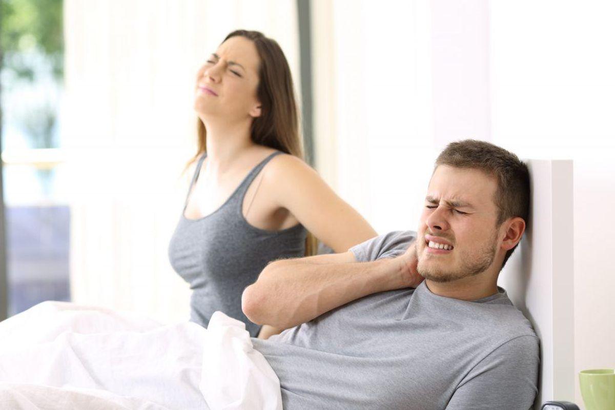 Lider du af kroniske smerter kan det være med til at forstyrre din nattesøvn, og dermed gøre dig træt i løbet af dagen. Kilde: Reader's Digest. Arkivfoto.