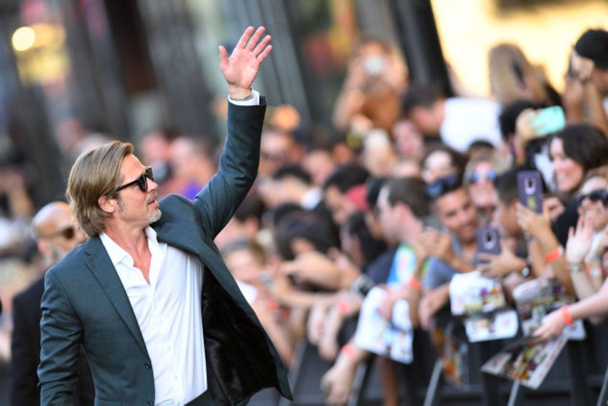 Brad Pitt er nomineret til en Oscar for Bedste Mandlige Birolle. Hvis han vinder den, vil det være første gang, han vinder en Oscar for sit skuespil. (Arkivfoto) Foto: Valerie Macon/AFP