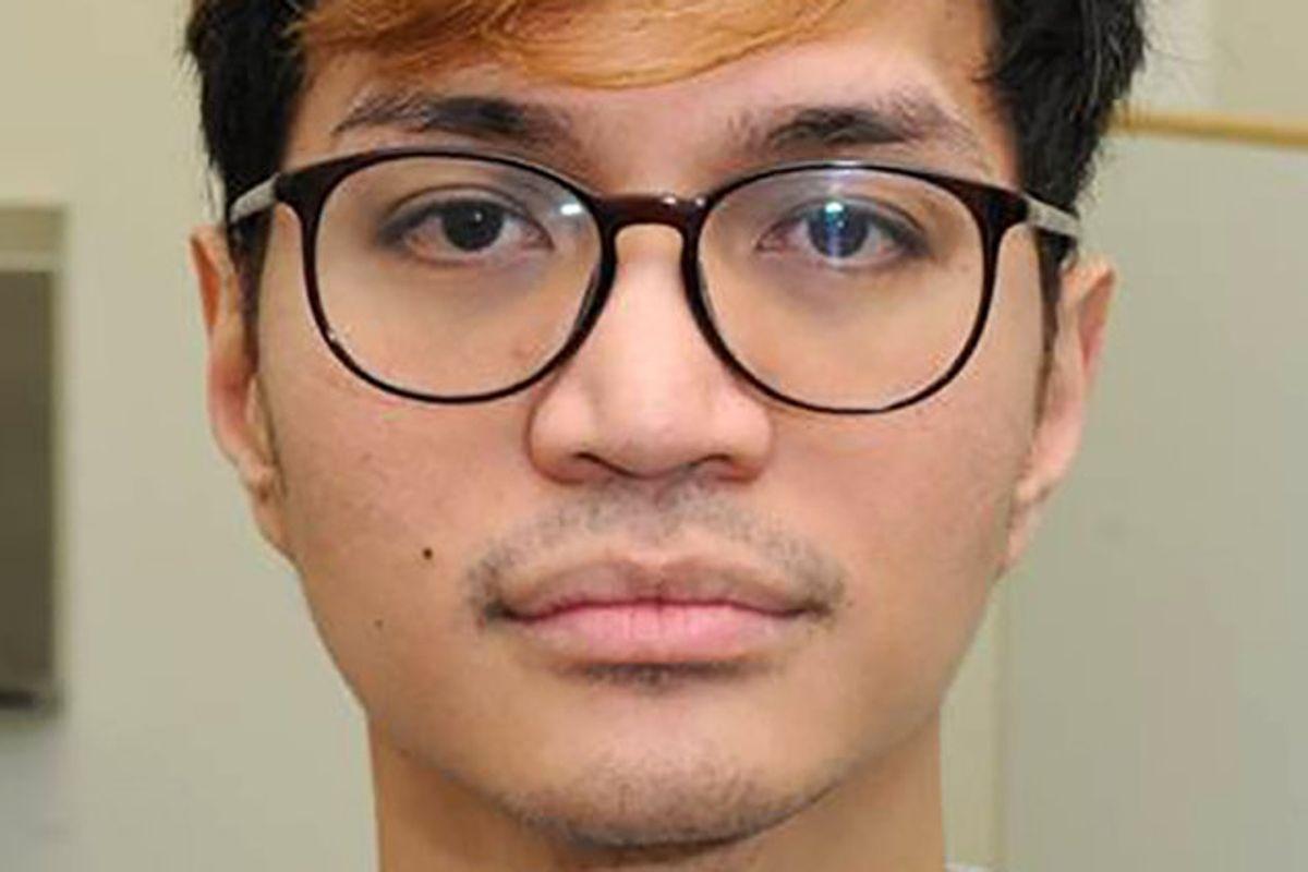 Foto fra Manchesters politi af den indonesiske studerende Reynhard Sinaga, som har fået en fængselsstraf på minimun 30 år for 136 voldtægter samt en række andre sexovergreb på mænd i Manchester. Foto: Ho/AFP
