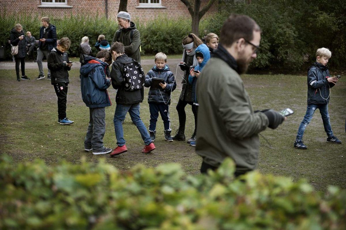 2016: De mange Pokémon-jægere fik danskerne til tasterne. Foto: Scanpix.